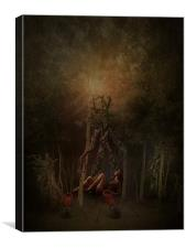 Guardians of the Forest, Canvas Print