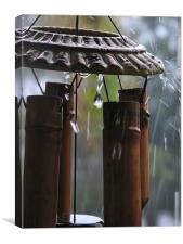 In the Rain, Canvas Print