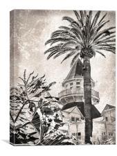 Hotel del Coronado, Canvas Print
