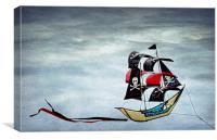Pirate Ship, Canvas Print