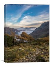 Lake District Views, Canvas Print