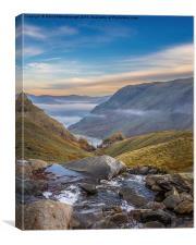Stunning Lake District, Canvas Print