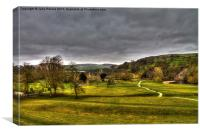 Bolton Abbey and Yorkshire Dales, Canvas Print