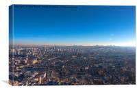 Paris Skyline, Canvas Print