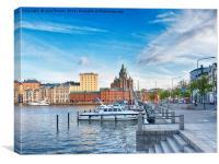 Helsinki Harbour, Canvas Print
