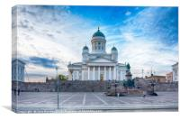 Helsinki Cathedral, Canvas Print
