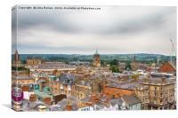 Oxford Cityscape, Canvas Print