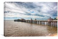 Blackpool North Pier, Canvas Print