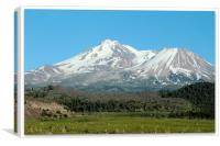 Mount Shasta, Canvas Print