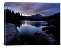 Before Sunrise, Canvas Print