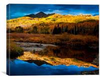 Fall Sunset, Canvas Print