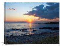 Newport Rhode Island sunset, Canvas Print