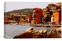 Villefranche, France, Canvas Print