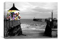 Fun at the Seaside, Canvas Print