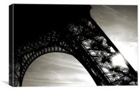 Eiffel Tower, Canvas Print