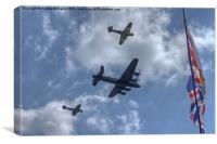 Battle of Britain Memorial Flight, Canvas Print