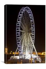 Brighton Wheel at Night, Canvas Print