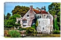 Scotney Castle - 01, Canvas Print