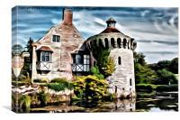 Scotney Castle - 03, Canvas Print