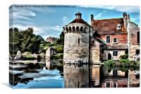 Scotney Castle - 04, Canvas Print