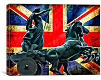Rule Britannia, Canvas Print