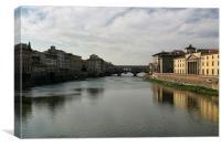 Ponte Vecchio No. 1, Canvas Print