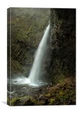 Upper Latourell Falls, No. 2, Canvas Print