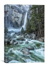 Lower Yosemite Falls, Canvas Print