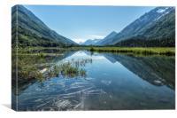 Reflections on Tern Lake, Canvas Print