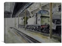 Didcot Tank Engines, Canvas Print