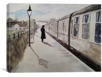 Waiting At Williton, Canvas Print
