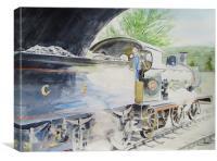 J15 564 Leaving Sheringham, Canvas Print