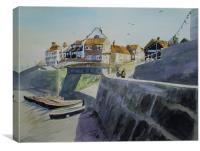 Sheringham Seafront Circa 1975, Canvas Print