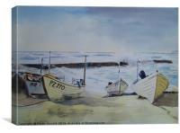 Sennen Cove Fishing Boats, Canvas Print