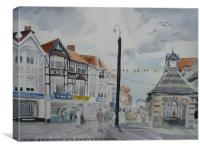 Sheringham High Street, Canvas Print