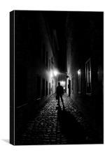Prague Backstreet, Canvas Print
