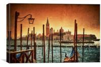 Venice Lagoon, Italy, Canvas Print