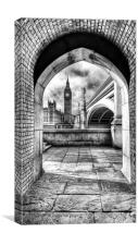 View of Big Ben, Canvas Print
