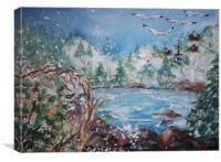 WIner Solstice, Canvas Print