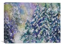 Winter Winds, Canvas Print