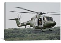 Royal Marines Lynx, Canvas Print
