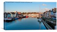 Weymouth Harbour, Canvas Print