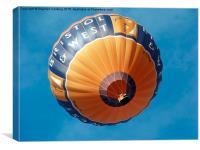 Hot Air Balloon , Canvas Print