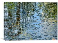 Reflections on Water, Canvas Print