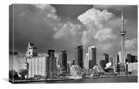 Toronto skyline, Canvas Print