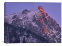 Fire Mountain, Canvas Print