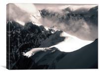 Vallée Blanche , Canvas Print