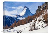 Classic Matterhorn, Canvas Print