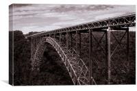 New River Gorge Bridge, Canvas Print