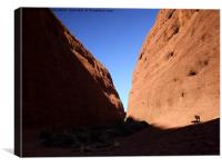 Kata Tjuta Uluru Ayers Rock, Canvas Print